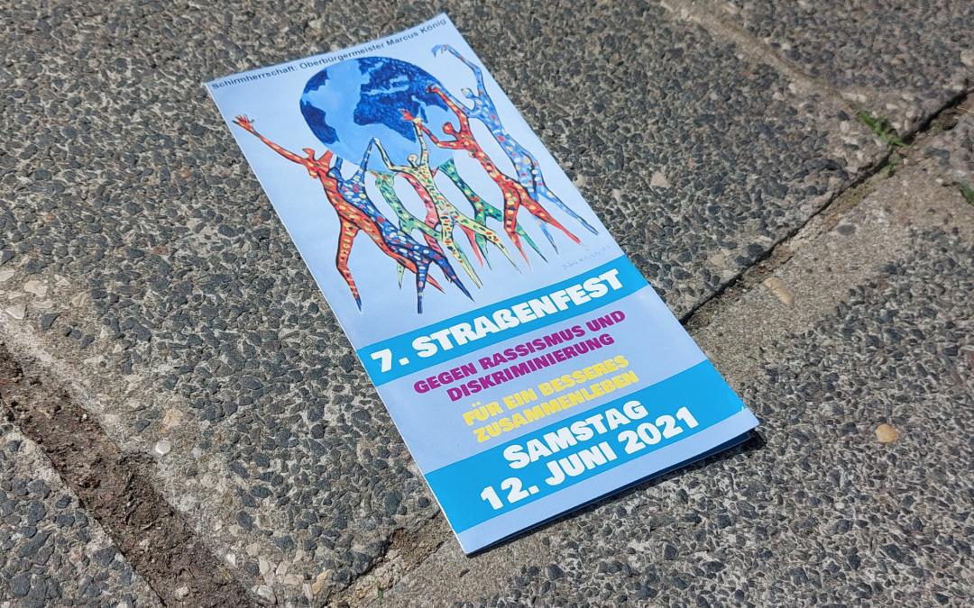 """07. Straßenfest """"Gegen Rassismus und Diskriminierung – Für ein besseres Zusammenleben"""""""
